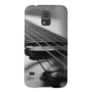 Black and White Guitar Case For Galaxy S5