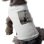 Black and White Guitar Doggie Shirt