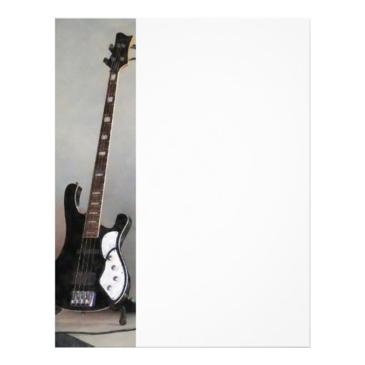 Black and White Guitar Flyer