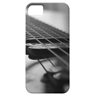 Black and White Guitar iPhone SE/5/5s Case