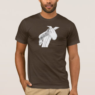 Black and White Guy Rock T-Shirt