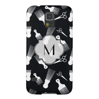 Black and White Hair fashion Case For Galaxy S5
