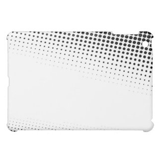 Black and White Halftone Dots Textured Case For The iPad Mini