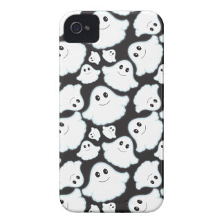 Black and White Halloween Ghost; Ghosts iPhone 4 Case