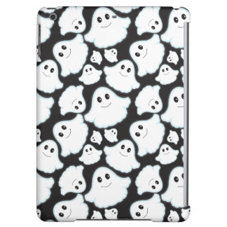 Black and White Halloween Ghost Ghosts Cover For iPad Air