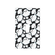 Black and White Halloween Ghost; Ghosts Light Switch Plate