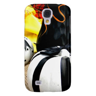 Black and White Harvest Galaxy S4 Case