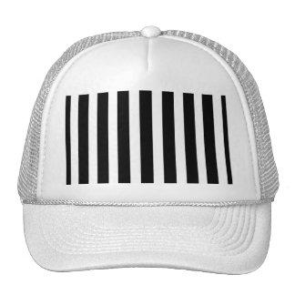 Black and White Trucker Hat