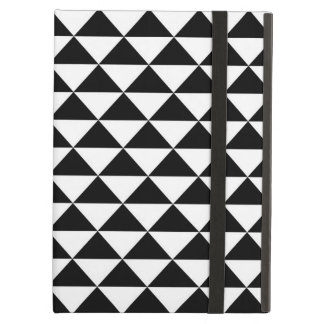 Black and white Hawaiian tattoo triangle pattern Case For iPad Air