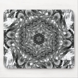 Black and White hex ribbon Dec 2012 Mouse Pad