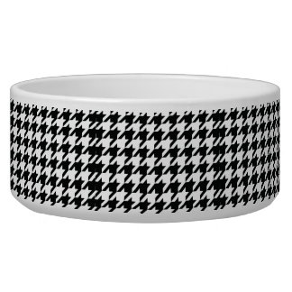 Black and White Houdstooth Pattern Bowl