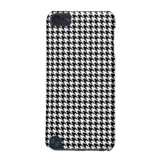 Black and White Hounds Tooth Case for Ipod iPod Touch (5th Generation) Case