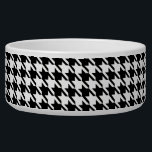 """Black and White Houndstooth Bowl<br><div class=""""desc"""">Black and white houndstooth is a traditional favorite that is always in style.</div>"""