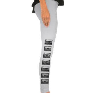 Black and White Houndstooth Cassette Legging