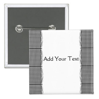 Black and White Houndstooth Manage this category Pin