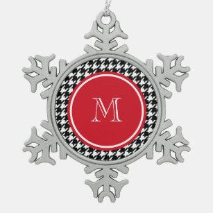 Houndstooth Ornaments & Keepsake Ornaments | Zazzle