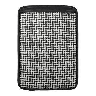 Black and White Houndstooth Sleeve For MacBook Air