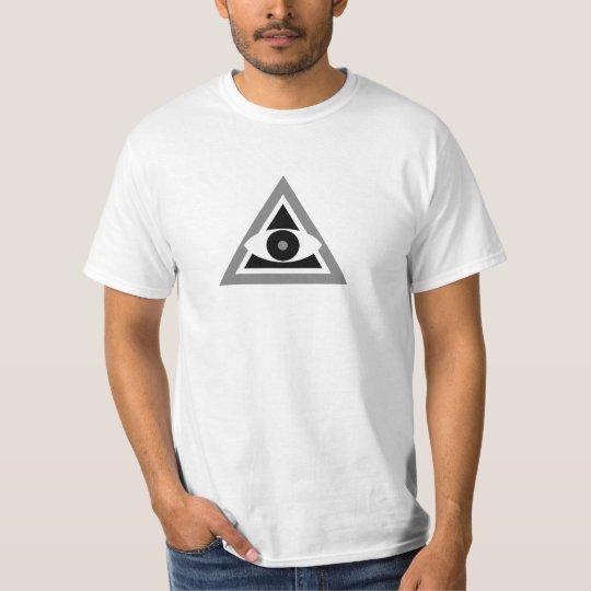 Black And White Illuminati Is Not Black And White T-Shirt
