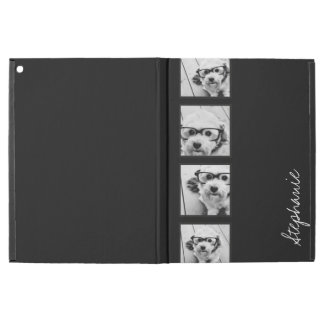 "Black and White Instagram Photo Collage iPad Pro 12.9"" Case"