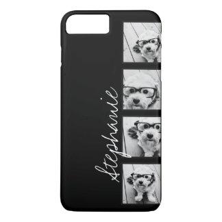 Black and White Instagram Photo Collage iPhone 8 Plus/7 Plus Case