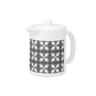Black and White Intricate Pattern.