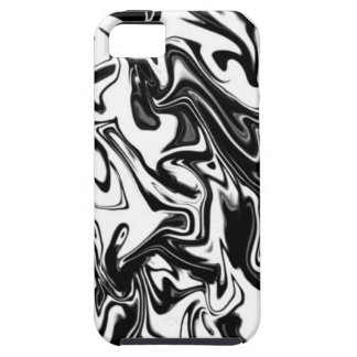Black and White iPhone SE/5/5s Case