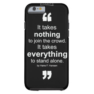 black and white iPhone six case