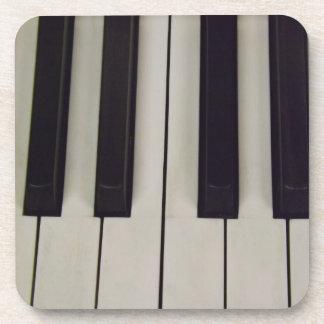 Black and White Keys Coasters