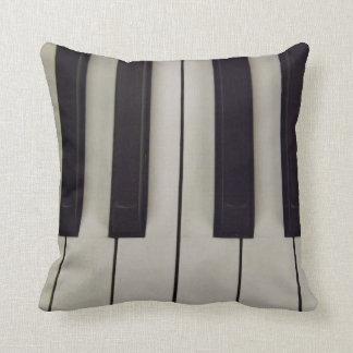 Black and White Keys/Running Waltz Pillow