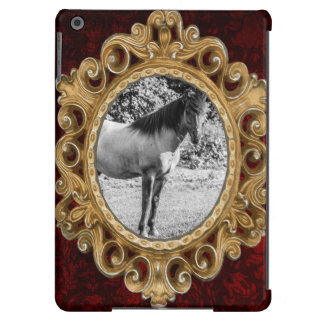 Black and White Konik Horse Case For iPad Air