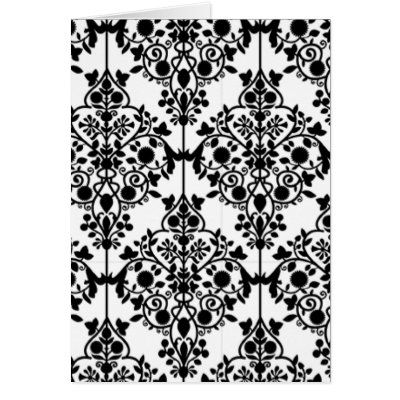White Wallpaper on Black And White Lace Wallpaper Card From Zazzle Com