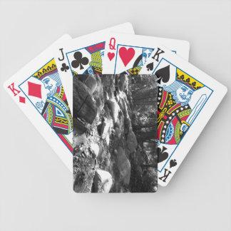 Black And White Landscape 25 Poker Cards