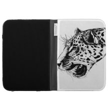 Black And White Leopard Kindle Keyboard Covers