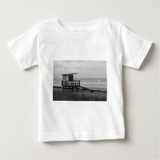 Black and White Lifeguard Stand Baby T-Shirt