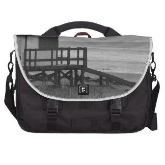 Black and White Lifeguard Stand Computer Bag