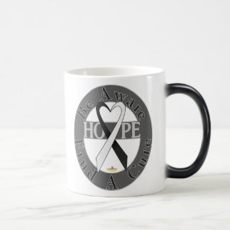 Black And White Light Be Aware Design Magic Mug