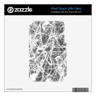 Black and White Lights iPod Touch 4G Skin