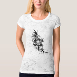 Black and White Lilies T-shirt