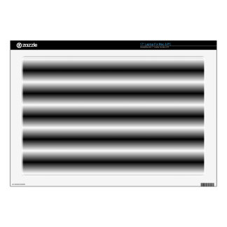 black and white line decals for laptops