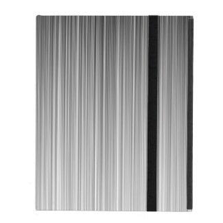 Black and White Line Design iPad Folio Cases