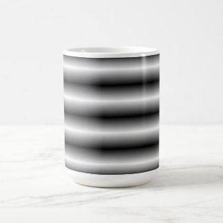 black and white Line pattern Mugs