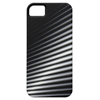 Black and white lines background iPhone SE/5/5s case