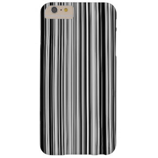 Black And White Lines Barely There iPhone 6 Plus Case