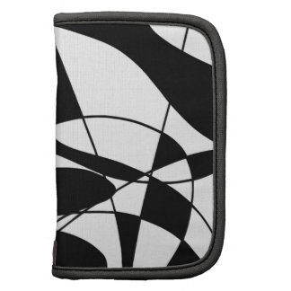 Black and White lines, block colour print pattern Organizers
