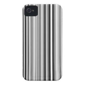 Black And White Lines iPhone 4 Case-Mate Case
