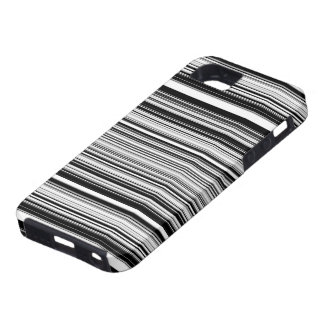 Black And White Lines iPhone SE/5/5s Case