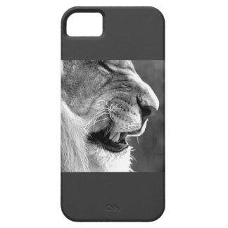 Black and White Lion Iphone 5 Cover