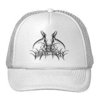Black and White Logo Cap Trucker Hat
