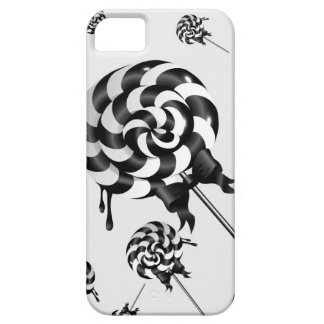 Black and White Lollies iPhone SE/5/5s Case