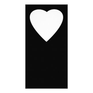 Black and White Love Heart Design. Card